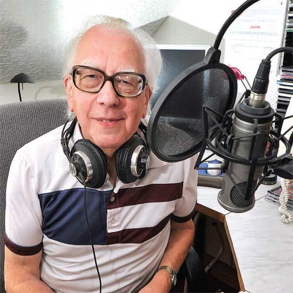 Alan Ashton - Presenter of ORGAN1st Radio